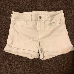 American eagle midi shorts size 12–mint color